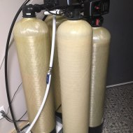 Carbon Folters and Softener - Steps 1 and 2